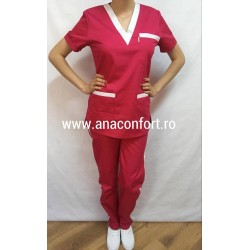Costum dama Oxford roz